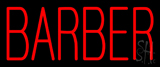 Red Barber Neon Sign