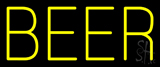 Yellow Beer LED Neon Sign