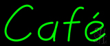 Green Cafe Neon Sign