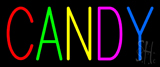 Multi Colored Block Candy Neon Sign