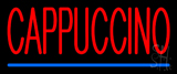Red Cappuccino LED Neon Sign