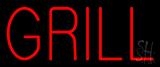 Red Grill Neon Sign