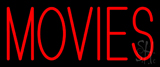 Movies Neon Sign