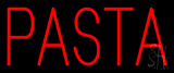 Simple Red Pasta Neon Sign