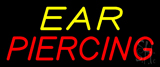Yellow Red Ear Piercing LED Neon Sign