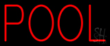 Red Pool LED Neon Sign