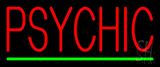 Psychic Green Line Neon Sign
