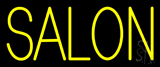 Block Yellow Salon Neon Sign