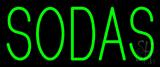 Green Sodas Neon Sign