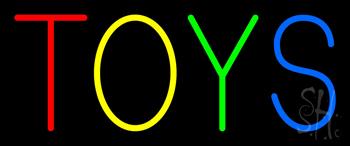 Multicolored Toys Neon Sign