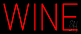 Red Colored Wine LED Neon Sign