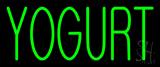Green Yogurt Neon Sign