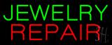 Jewelry Repair Block Neon Sign