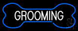 Bone Grooming Neon Sign