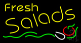 Fresh Salads Neon Sign
