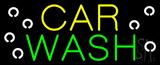 Yellow Car Green Wash Neon Sign
