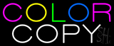Color Copy Neon Sign