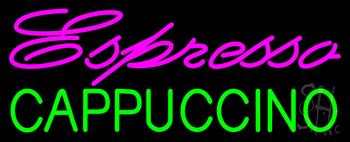 Pink Espresso Green Cappuccino Neon Sign