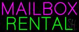 Mailbox Rental Neon Sign