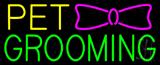 Pet Grooming Logo Neon Sign
