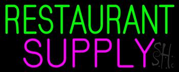 GreenRestaurant Pink Supply Neon Sign