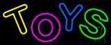 Multicolored Double Stroke Toys Neon Sign