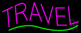 Pink Travel Block Neon Sign