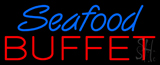 Red Seafood Buffet Neon Sign