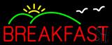 Breakfast Logo Neon Sign