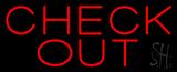 Block Red Neon Sign
