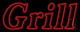 Double Stroke Grill Neon Sign