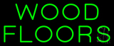 Wood Floors Neon Sign