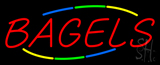 Multicolored Bagels Neon Sign