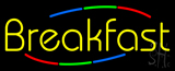 Yellow Breakfast Neon Sign