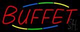 Multicolored Buffet Neon Sign