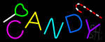 Candy Symbol Neon Sign