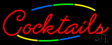 Multi Colored Cocktail Neon Sign