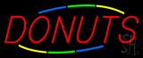 Multicolored Donuts Neon Sign