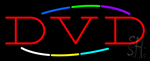 Multicolored Deco Style DVD LED Neon Sign