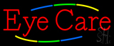 Deco Style Multi Colored Eye Care Neon Sign