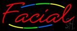 Deco Style Facial Neon Sign