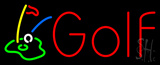 Golf with Logo Neon Sign