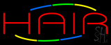 Multi Colored Hair Neon Sign
