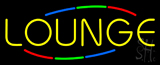 Multi Colored Lounge Neon Sign