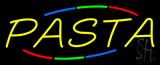Yellow Pasta Neon Sign
