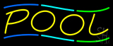 Multicolored Pool Neon Sign