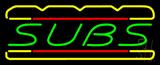 Subs Logo Neon Sign
