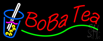 Boba Tea Neon Sign