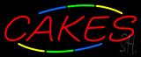 Multi Colored Cakes Neon Sign