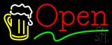 Beer Open Neon Sign